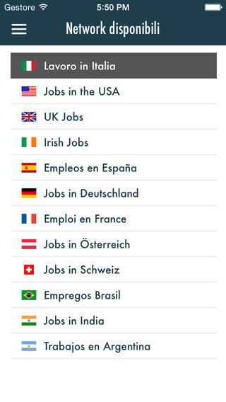 App per trovare lavoro - Tapjobs