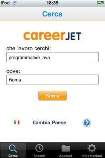 app per trovare lavoro - Careerjet