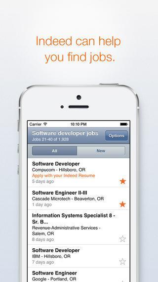 app per trovare lavoro - Indeed