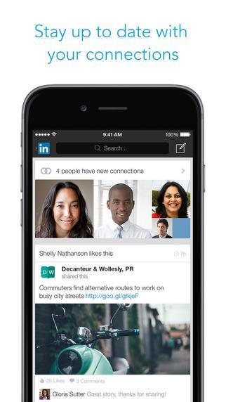 App trovare lavoro - Linkedin