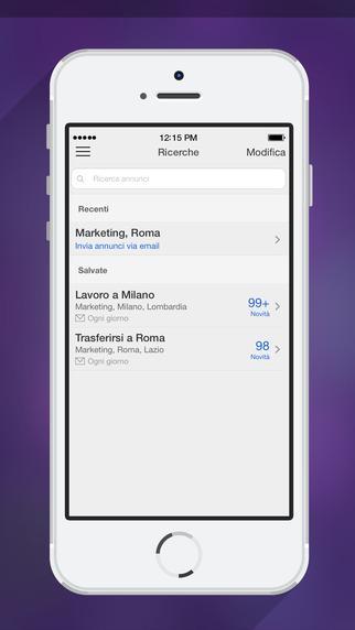 App per trovare lavoro - Monster