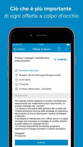 app per trovare lavoro - Infojobs
