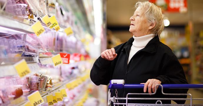 tipi persone supermercato