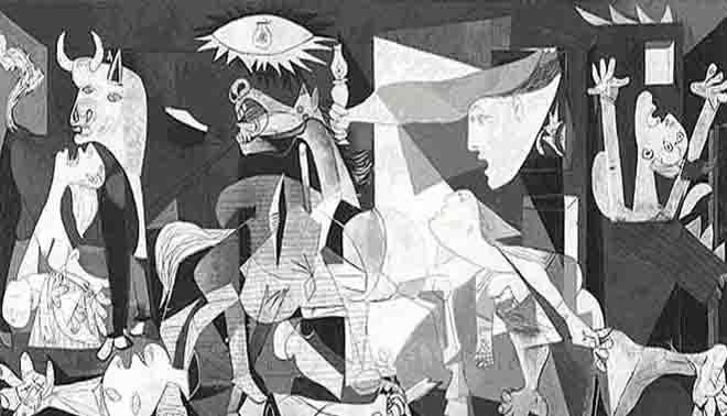 analisi dell'opera artistica Guernica di Picasso