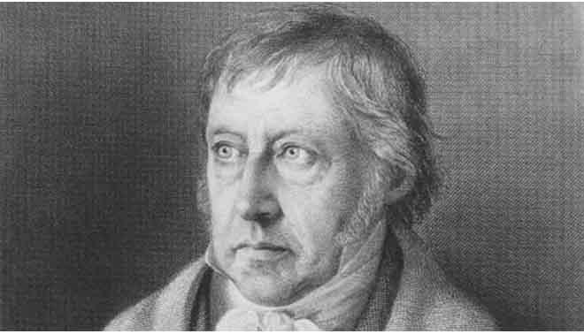 vita e opere del filosofo Hegel