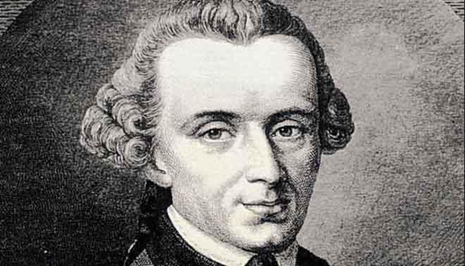 vita e pensiero filosofico di Immanuel Kant