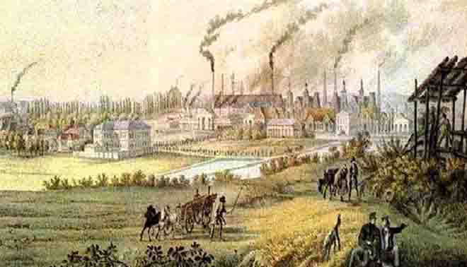 caratteristiche e aspetti della Prima Rivoluzione industriale