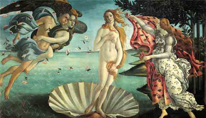 Rinascimento in arte, letteratura e nei vari campi