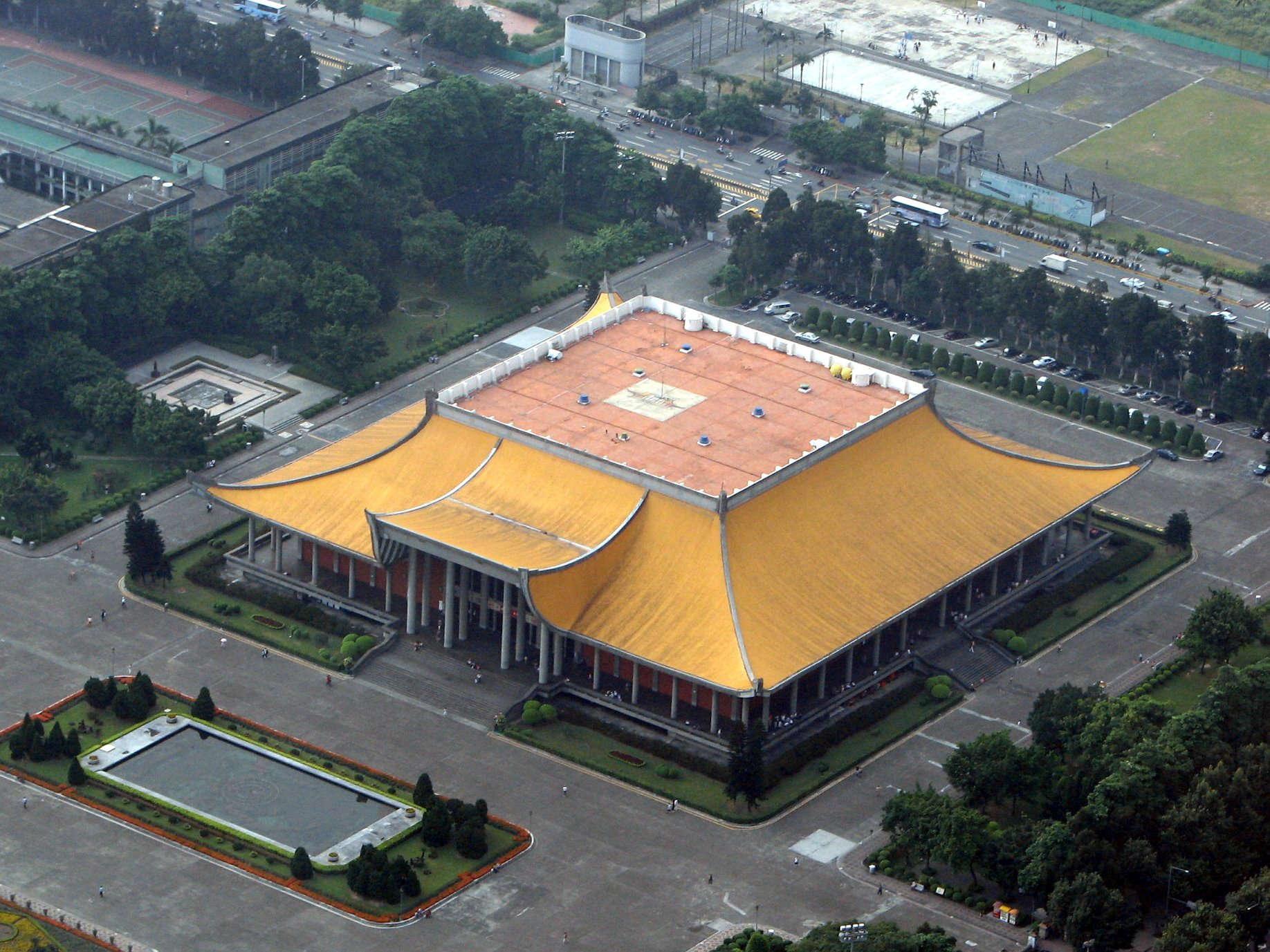 Il tempio d'oro - Taipei