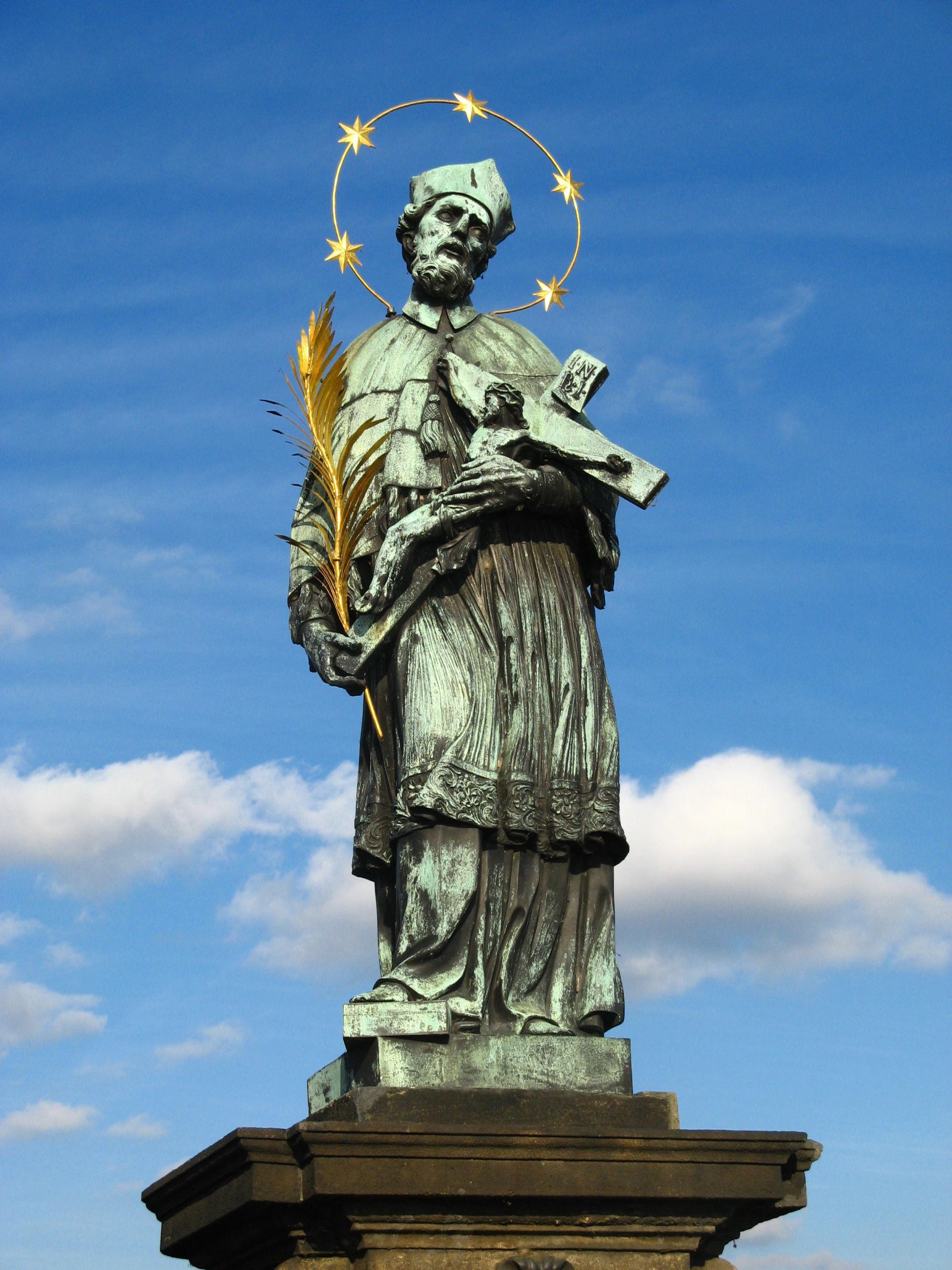 La statua di San Giovanni - Praga