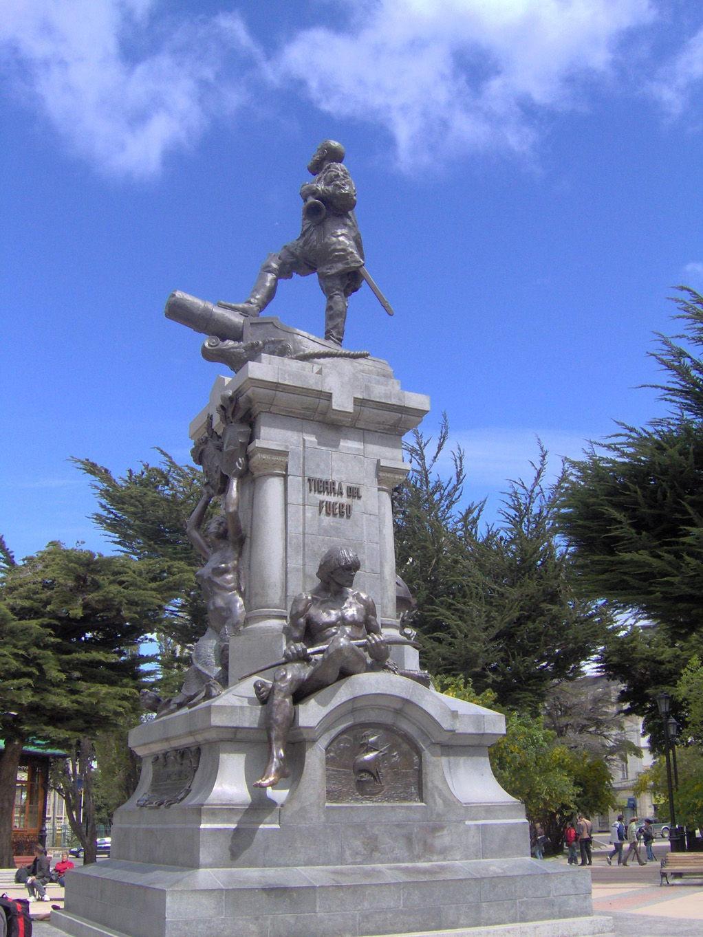 Monumento di Magellano - Punta Arenas