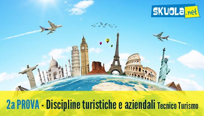 soluzione della seconda prova di discipline turistiche e aziendali