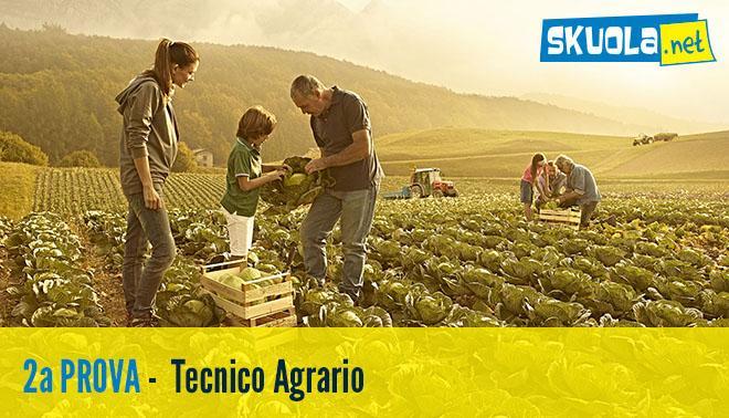 soluzioni della seconda prova dell'esame di Stato 2016 del tecnico agrario