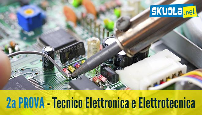 Seconda prova di Maturità 2016 di Elettronica ed elettrotecnica