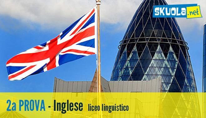 soluzione della seconda prova di inglese per il linguistico