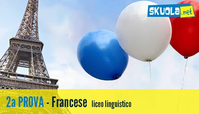 soluzione della Seconda prova di francese per l'esame di Stato 2016
