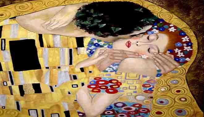 Il bacio, quadro di Klimt