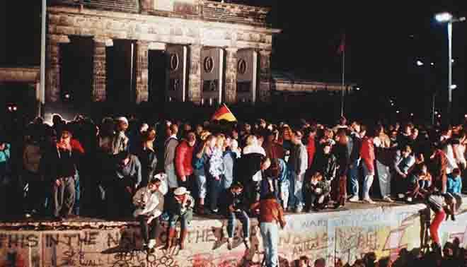 Caduta del Muro di Berlino in Germania
