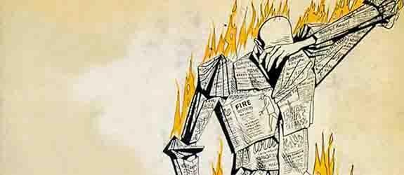 recensione del romanzo Fahrenheit 451 di Bradubury