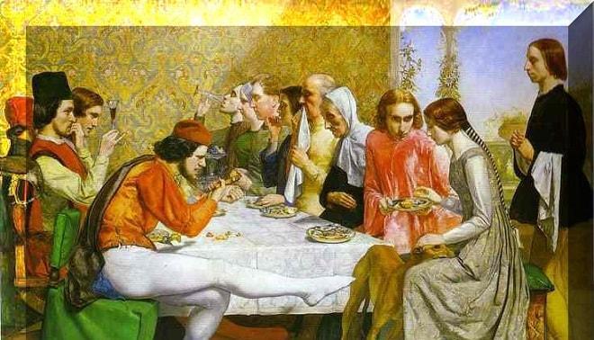 la novella del Decamerone, Lisabetta da Messina