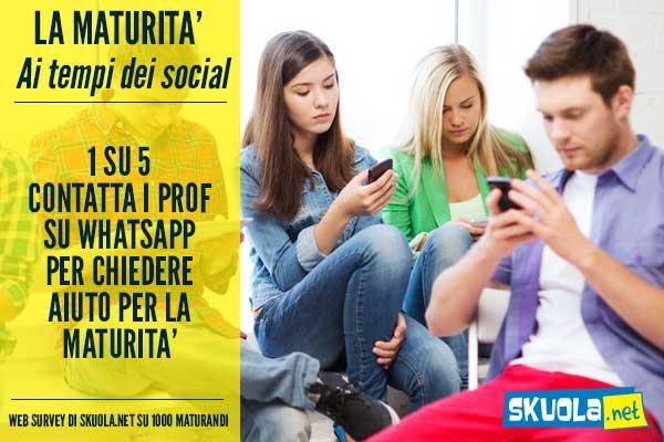 maturita 2016 social whatsapp