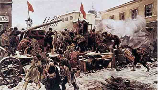 eventi della Rivoluzione russa