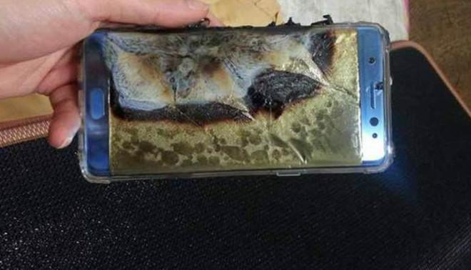 samsung galaxy note 7 esplode batteria