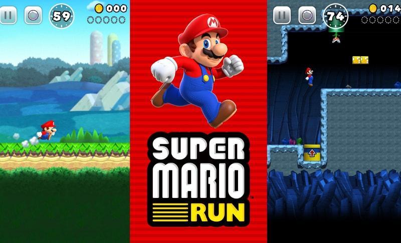 super mario run app iphone ipad ios android