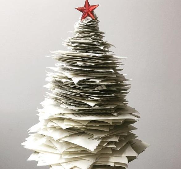 Albero Di Natale Fai Da Te.Albero Di Natale Fai Da Te 7 Soluzioni Senza Abete