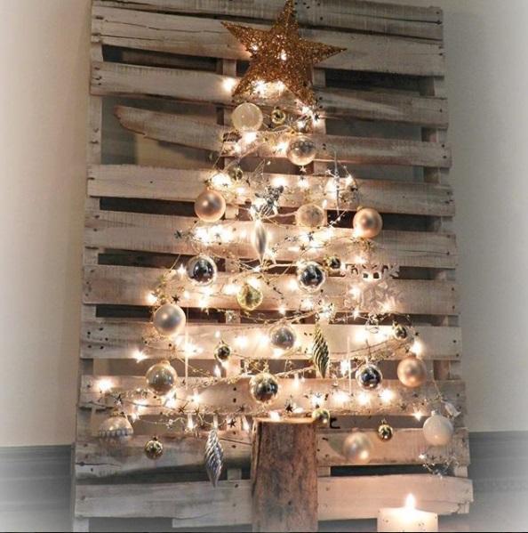 Alberi Di Natale Fai Da Te Originali.Albero Di Natale Fai Da Te 7 Soluzioni Senza Abete