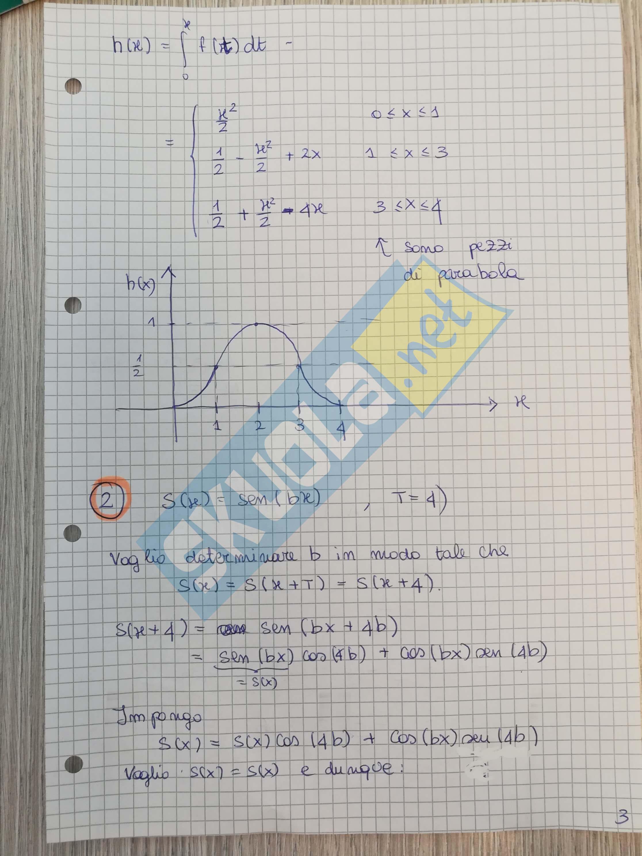 Soluzione Seconda prova Matematica: Scientifico 2017