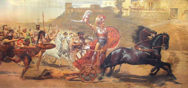 proemio dell'Iliade con parafrasi
