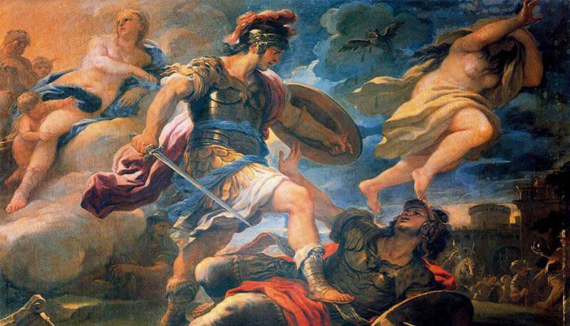 il proemio e la tempesta, parafrasi