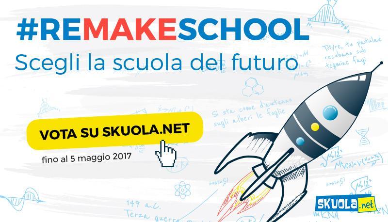 remake school sondaggio skuola.net proposte nuova scuola