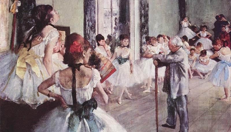 tesina che descrive la danza