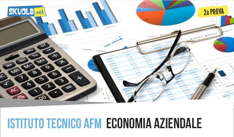 Economia Aziendale seconda prova 2019