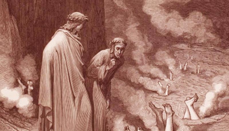 Divina Commedia: Inferno, con analisi della sua struttura