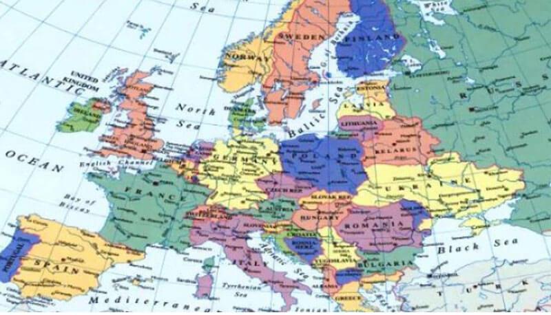 Cartina Del Mondo Nel 1800.Europa E Resto Del Mondo Dal 1815 Al 1870