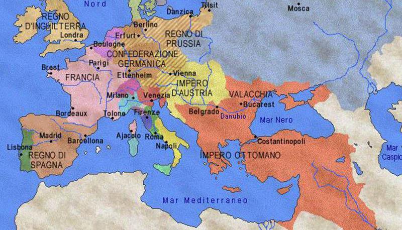 Cartina Russia Con Confini.Russia E Prussia Nel Xvii Secolo