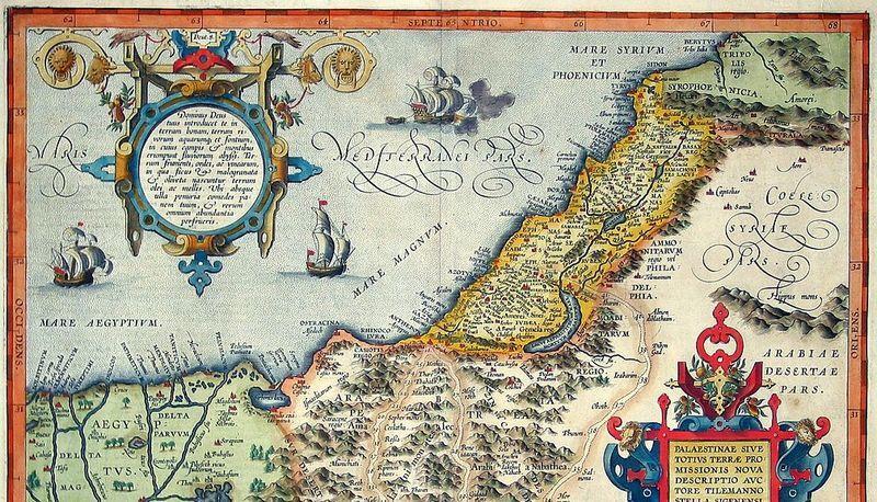 Cartina Geografica Della Palestina Di Oggi.Palestina Descrizione Territorio E Popolazione