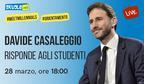 #MeetMillennials: Davide Casaleggio risponde alle vostre domande su futuro e orientamento