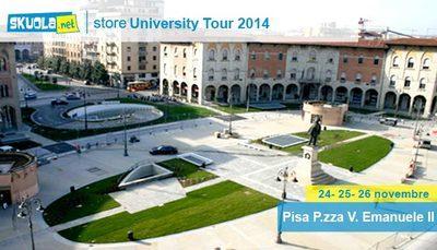A Pisa con furore: arriva Skuola.net all'università