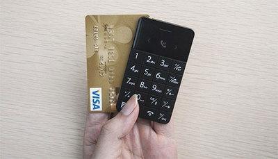 Talkase, il cellulare spesso come un bancomat