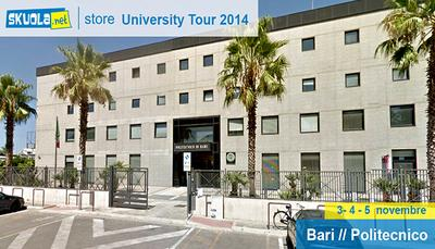 Skuola.net in Tour: a Bari a caccia di talenti