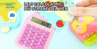 Le 5 calcolatrici più strane del web