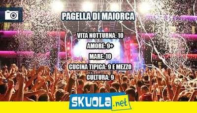 Vacanza a Maiorca: la pagella di Skuola.net