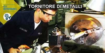 Tornitore di Metalli: il diplomato ben pagato