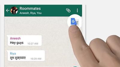 Su WhatsApp arriva Google Translate: scopri come chattare con tutto il mondo