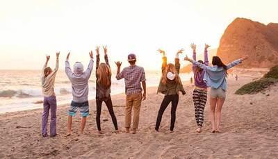Vacanza da sballo, divertimento e nuove amicizie