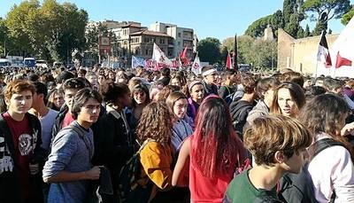 21 marzo, manifestazione degli studenti contro le mafie